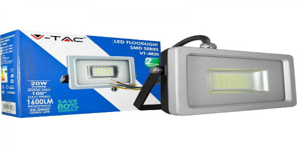 LED Floodlights V-tac SLIM SMD