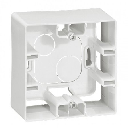 664798 Surface mounting box Niloé - 1 gang - white