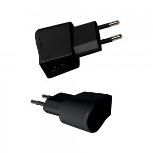 VT-1024 USB TRAVEL ADAPTOR WITH DOUBLE BLISTER PACKAGE-BLACK
