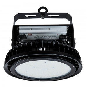 LED Камбана SAMSUNG ЧИП - 500W 120° Димираща Meanwell Black Body 4000K