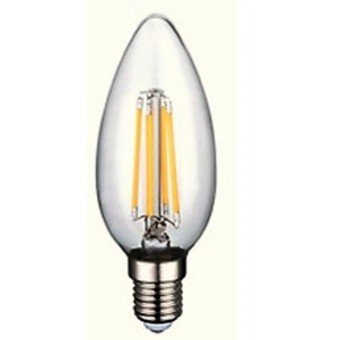 LED Candle  filament 220-240V E14 4W