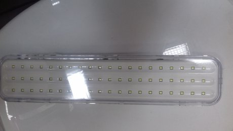 LED 6W Evacuation emergency lighting for wall mounting