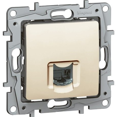 Legrand Niloe 664875 RJ 45 Data Socket Cat.6 STP Cream