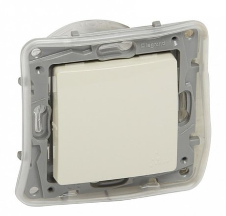 764625 Niloé Two-way switch and push button IP 44