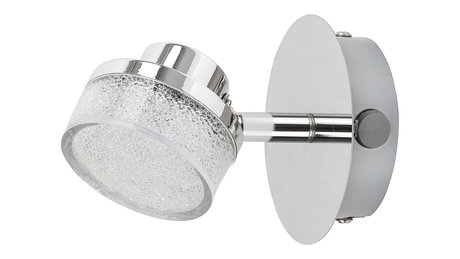 МЕТАЛЕН СПОТ, CHROME, RABALUX, PADMA, LED 5W, 3000K, 400LM, 5635