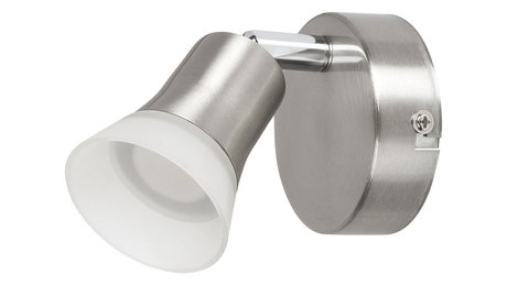 МЕТАЛЕН СПОТ, SATIN CHROME, RABALUX, LED 4W, 3000K, 350LM, 5626