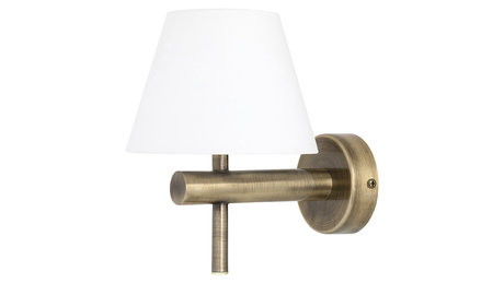 СТЪКЛЕН АПЛИК, ANTIQUE BRONZE, RABALUX, ANGUS, LED 6W, 4000K, 550LM, 3997