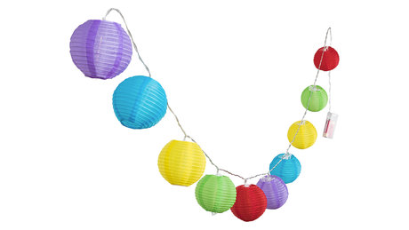 ХАРТИЕН ПОЛИЛЕЙ, MULTICOLOR, RABALUX, DOTTIE, LED 0.4W, 6000K, 3LM, 1461