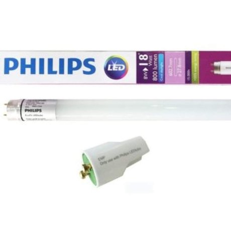 LED Пура 8W 600mm Ecofit Philps