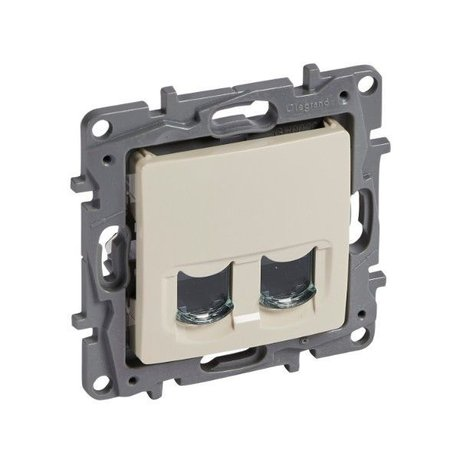 Legrand Niloe 664874 RJ 45 2 X Data UTP Cream
