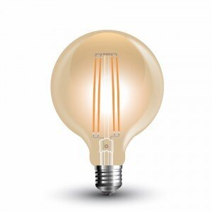 LED Крушка 7W Special Filament  E27 G95 Amber 2200K