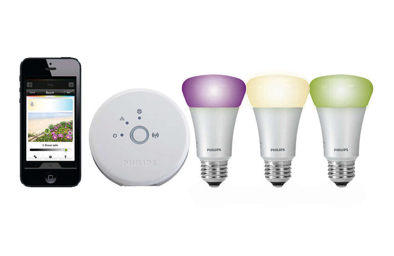 Philips Hue WCA 9W A60 E27 3 Set EUR PMO BT - система за wireless управляемо осветление за iOS и Android устройства